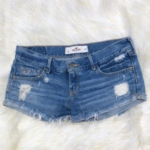 American Eagle Destroyed Booty Shorts 3 W26